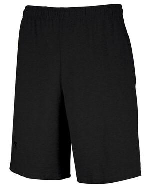 Basic Cotton Athletic Shorts With Pockets