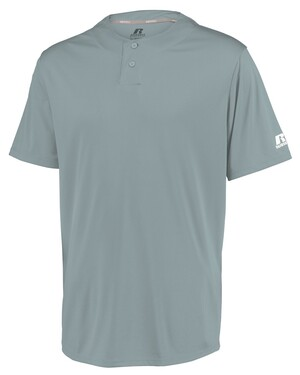 Youth Performance Two-Button Solid Jersey