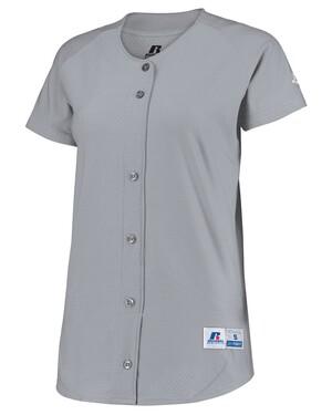 Women's Stretch Faux Button Jersey