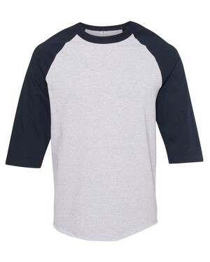 Classic Raglan Three-Quarter Sleeve T-Shirt