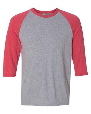 Triblend Raglan Three-Quarter Sleeve T-Shirt