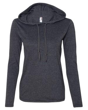 Women's Lightweight Hooded Long Sleeve T-Shirt