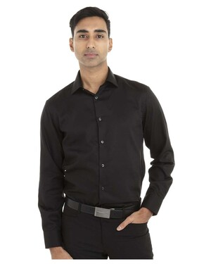 Non-Iron Pincord Slim-Fit Shirt