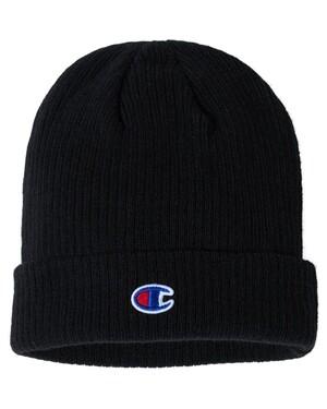 Ribbed Knit Cap