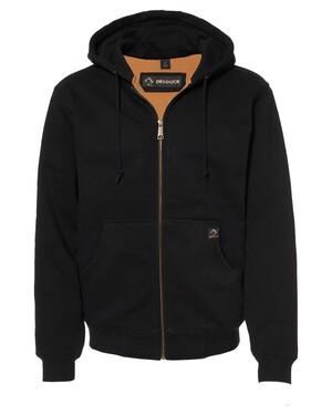 Crossfire Heavyweight Power Fleece Hooded Jacket with Thermal Lining