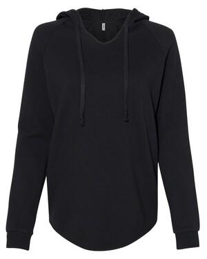 Women's Lightweight California Wave Wash Hooded Sweatshirt