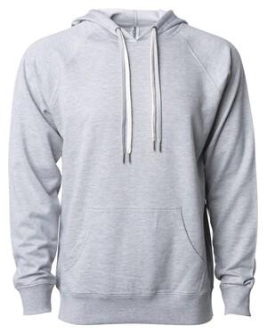 Icon Unisex Lightweight Loopback Terry Hooded Sweatshirt