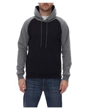 Fleece Raglan Hooded Sweatshirt
