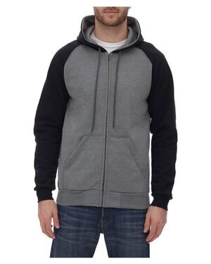 Fleece Raglan Hooded Full-Zip Sweatshirt