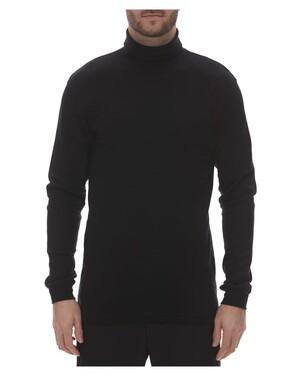 Interlock Turtleneck Long Sleeve T-Shirt