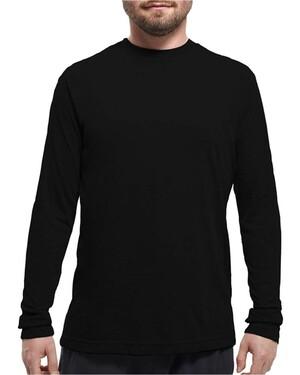 Poly-Blend Long Sleeve T-Shirt