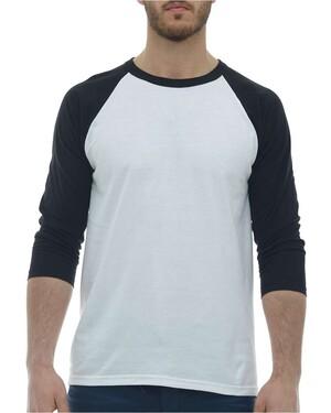 Raglan Three-Quarter Sleeve Baseball T-Shirt