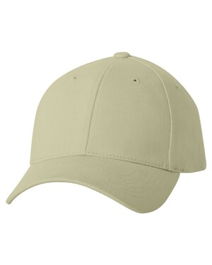 Heavy Brushed Twill Structured Cap