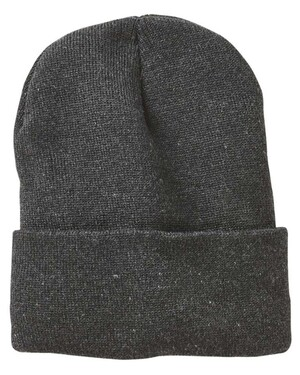 """Jersey Lined 12"""" Cuffed Beanie"""
