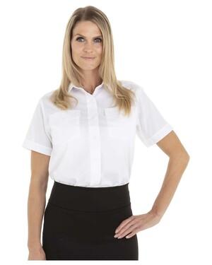 Women's Short Sleeve Aviation Shirt
