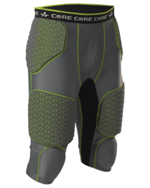 Youth Integrated 7 Padded Football Girdle