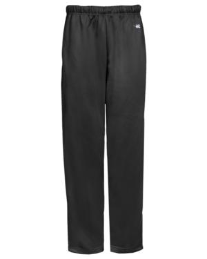 Perf. Fleece Open Bottom Youth Pants