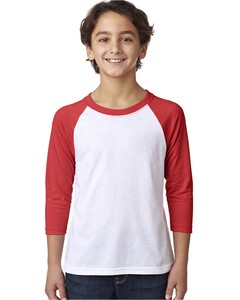 Next Level Apparel 3352 Red