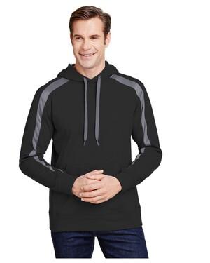 Men's Spartan Tech-Fleece Color Block Hoodie