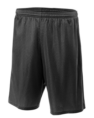Nine Inch Inseam Mesh Shorts