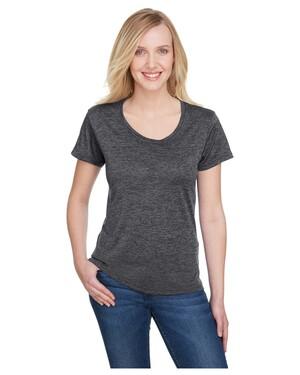 Ladies' Tonal Space-Dye T-Shirt