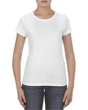Missy 4.3 oz. Ringspun Cotton T-Shirt