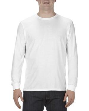 Adult 4.3 oz. Ringspun Cotton Long-Sleeve T-Shirt