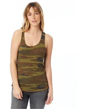 Women's Meegs Printed Racerback Eco-Jersey™ Tank