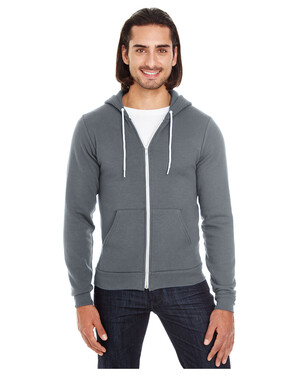 Unisex Flex Fleece USA Made Zip Hoodie