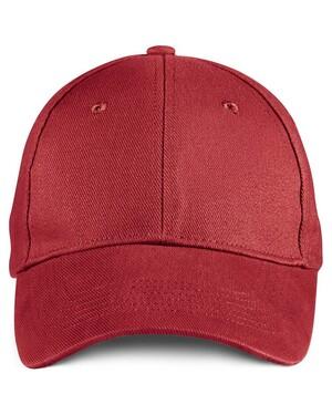 6-Panel Brushed Twill Cap