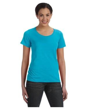 Women's 3.2 oz. Sheer Scoop Neck T-Shirt