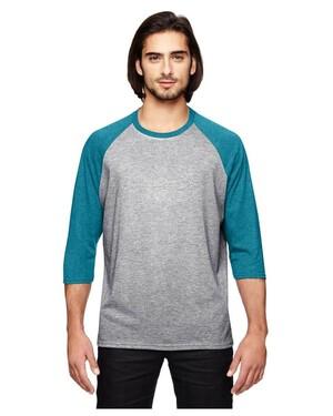 Triblend 3/4-Sleeve Raglan T-Shirt