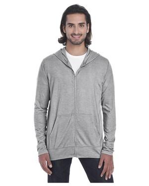 Tri-Blend Adult Full Zip Jacket