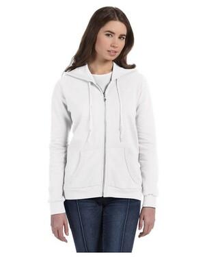 Women's Combed Ringspun Fashion Full-Zip Hood