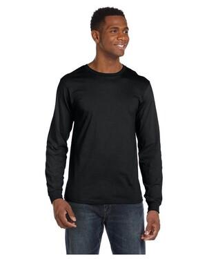 4.5 oz. Long-Sleeve Fashion Fit T-Shirt