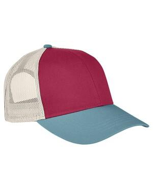 Tri-Color Trucker Cap