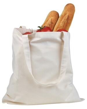 6 oz. Canvas Tote Reusable Shopping Bag