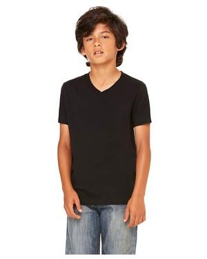 Youth  4.2 oz. V-Neck Jersey T-Shirt