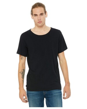 Men's Jersey Raw Neck T-Shirt