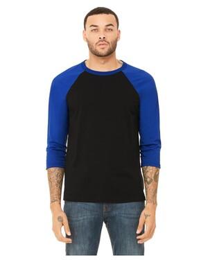 Unisex Tri-Blend 3/4-Sleeve Raglan T-Shirt