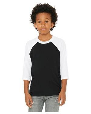 Youth 3/4-Sleeve Baseball T-Shirt