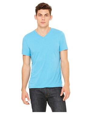 Unisex 3.4 oz. V-Neck Tri-Blend T-Shirt