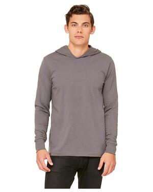 4.2 oz. Long-Sleeve Jersey Unisex Hoodie