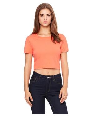 Women's Poly-Cotton Crop T-Shirt