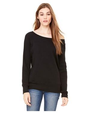 Women's Sponge Fleece Off-Shoulder Sweatshirt