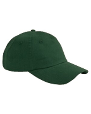 5-Panel Brushed Twill Unstructured Cap