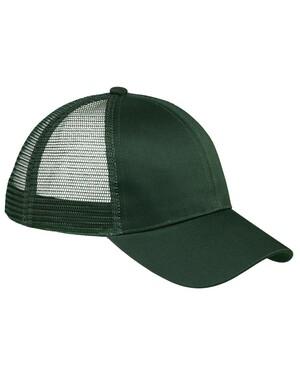 6-Panel Structured Trucker Snapback Hat