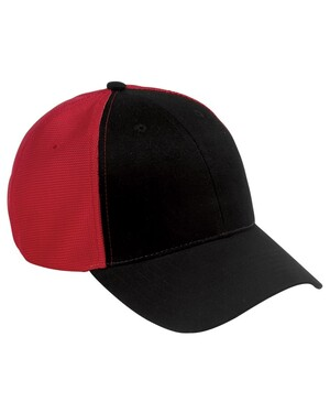 Old School Baseball Hat with Technical Mesh