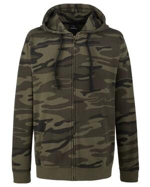 Men's French Terry Full-Zip Hooded Sweatshirt