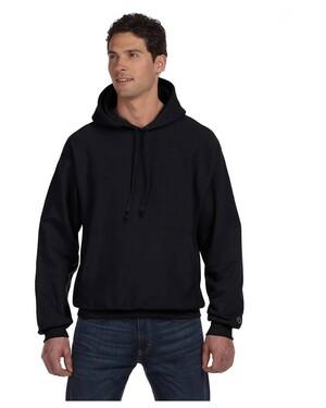 Reverse Weave Pullover Hooded Sweatshirt